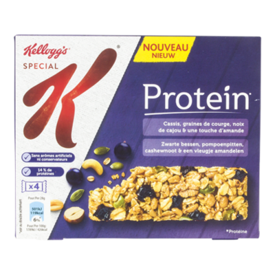 Kellogg's Special K protein bars blauwe bes