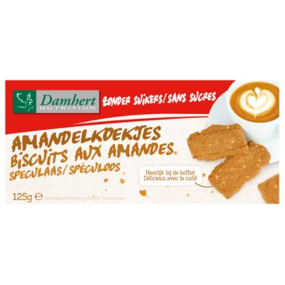 Damhert No sugar added amandelkoekjes