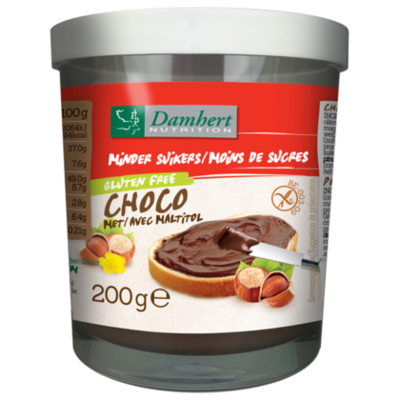 Damhert No sugar added chocopasta