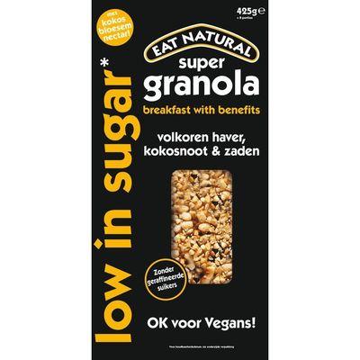 Eat Natural Super granola low in sugar
