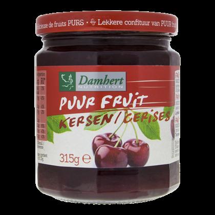 Damhert Puur fruit confituur kersen