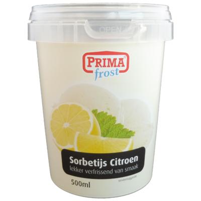 Primafrost Sorbetijs citroen