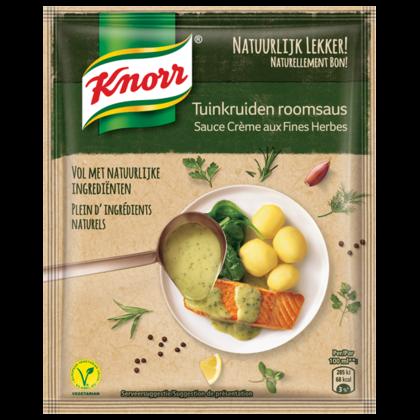 Knorr Tuinkruiden roomsaus natuurlijk lekker