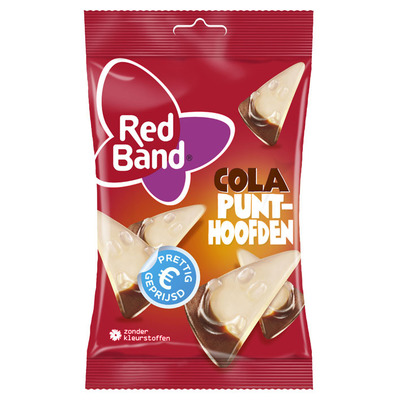 Red Band Cola punthoofden