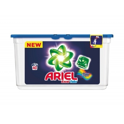 Ariel Excel tabs color wascapsules 40 wasbeurten