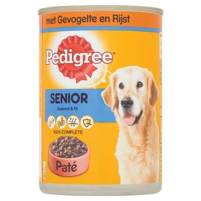Pedigree Hondenvoer Senior Paté Met Gevogelte