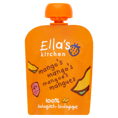 Ella's Kitchen Mango's mango's 4 maanden