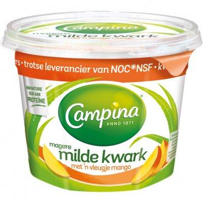 Campina Milde magere kwark mango