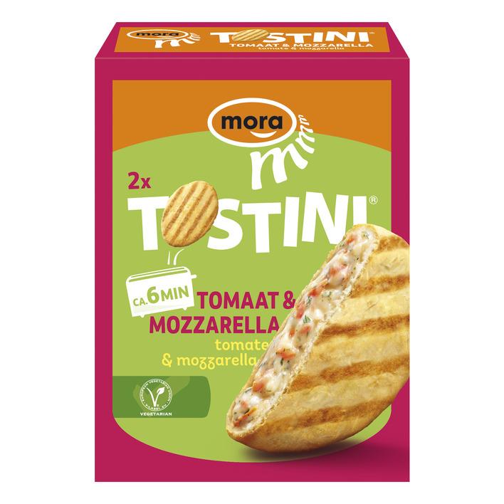 Mora Tostini mozzarella-tomaat
