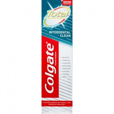 Colgate Total tandpasta interdent clean
