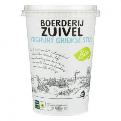 Budget Huismerk Boerderijzuivel griekse stijl yoghurt
