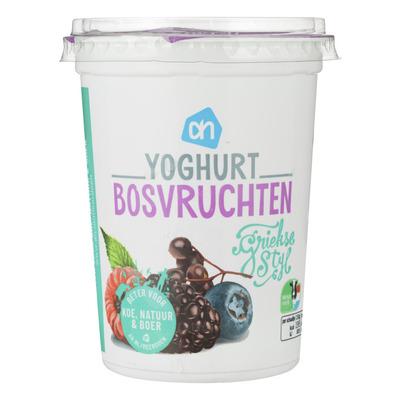Huismerk Yoghurt Griekse stijl bosvruchten