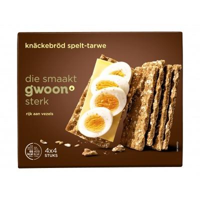 Huismerk Knäckebröd spelt-tarwe