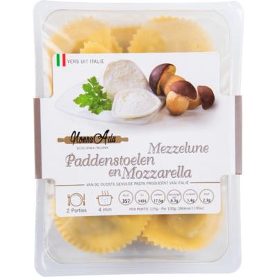 Nonna Ada Mezzelune paddenstoelen en mozzarella
