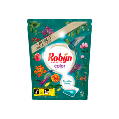 Robijn Wascapsules Paradise Secret 14 Wasbeurten