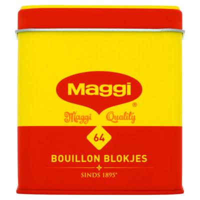 Maggi 64 Bouillon Blokjes Voordeel 256 g