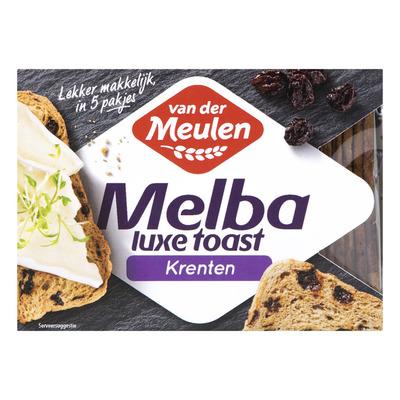 Van der Meulen Melba toast krenten