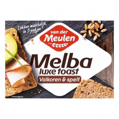 Van der Meulen Melba toast luxe volkoren & spelt
