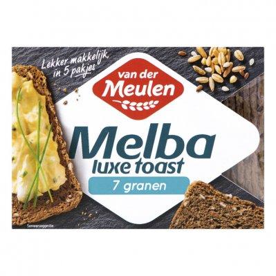 Van der Meulen Melba toast luxe 7 granen