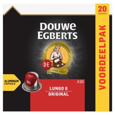 Douwe Egberts Capsules lungo original 20 stuks