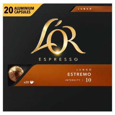 L'or Lungo Estremo Koffiecups Voordeelpak 20 Stuks