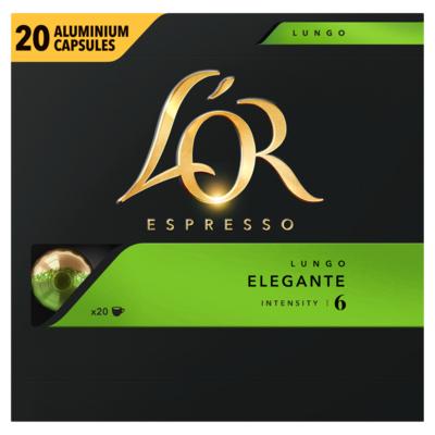 L'or Lungo Elegante Koffiecups Voordeelpak 20 Stuks
