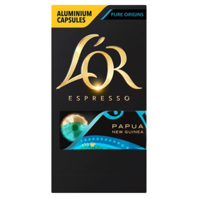 L'or Espresso Papua New Guinea Koffiecups 10 Stuks