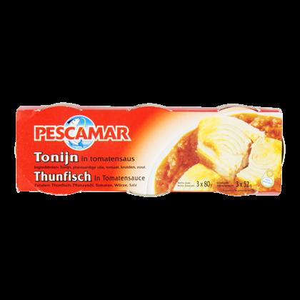 Pescamar Vis tonijn tomatensaus 3-pack