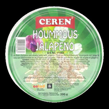 Ceren Hummus jalapeno