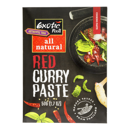 Exotic Food Rode curry kruidenpasta all natural
