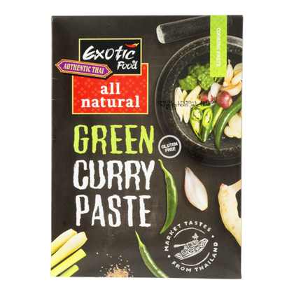 Exotic Food Groene curry kruidenpasta all natural