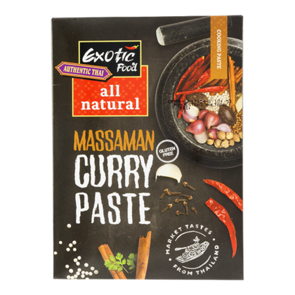Exotic Food Massaman kruidenpasta all natural