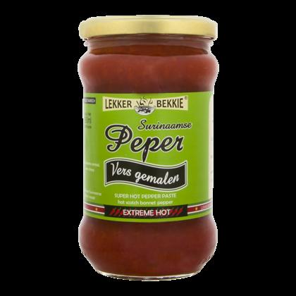 Lekker Bekkie Vers gemalen Surinaamse pepers