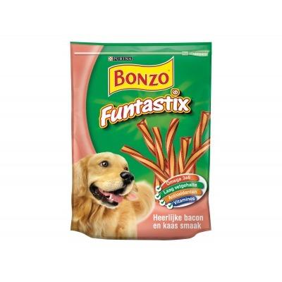Bonzo Funtastix met bacon & kaassmaak