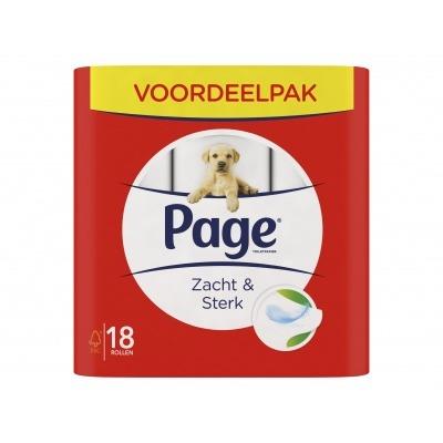 Page Toiletpapier zacht&sterk