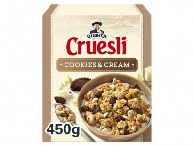 Quaker Cruesli cookies & cream