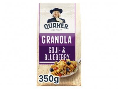 Quaker Crunchy muesli goji & blauwe bes