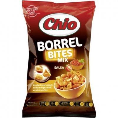 Chio Borrel bites salsa