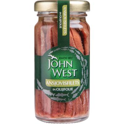 John West Ansjovisfilets in olijfolie