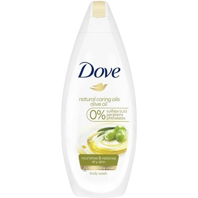 Dove Shower olive oil