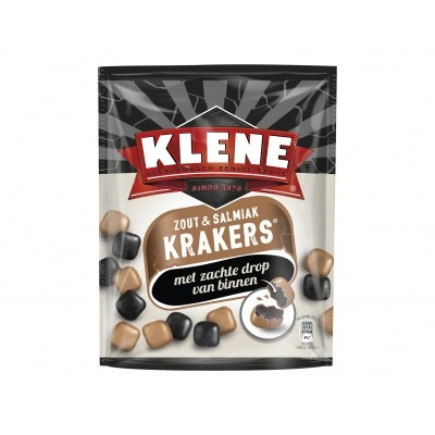 Klene Krakers zout & salmiak