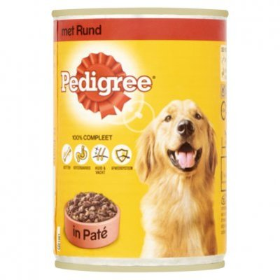 Pedigree Hondenvoer nat paté rund