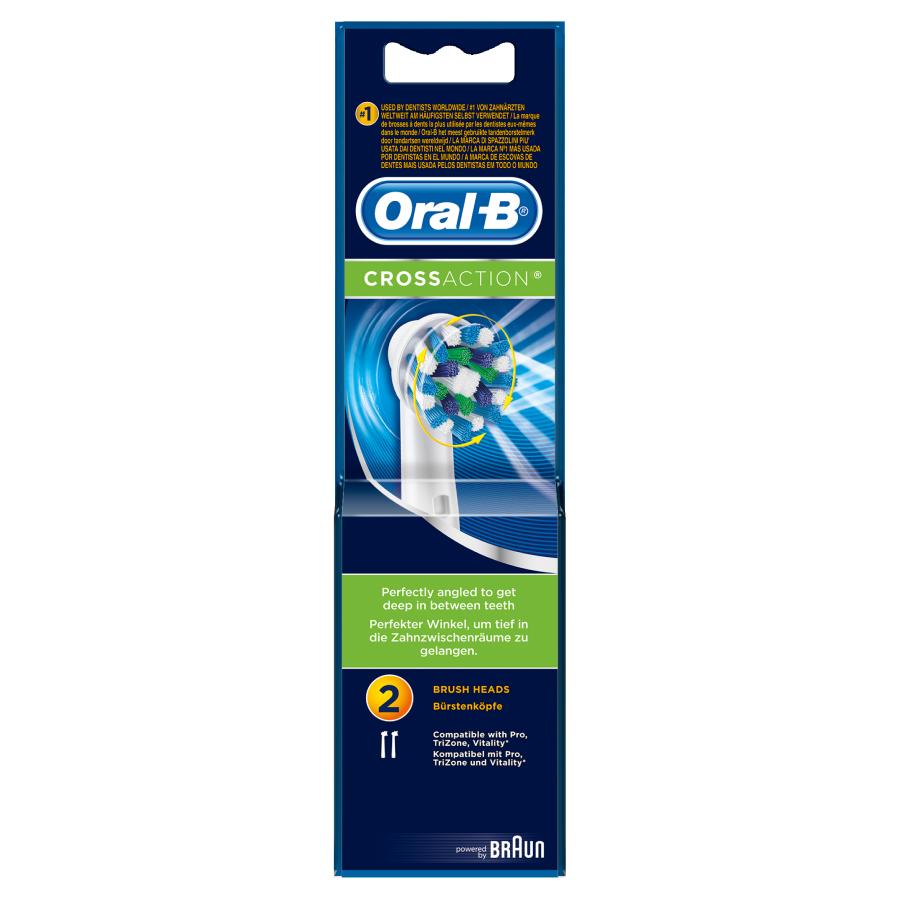 Oral B Opzetborstels cross action