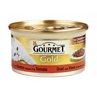 Gourmet Gold cassolettes vlees & tomaat