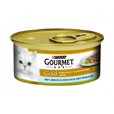 Gourmet Gold luxe mix zeevis & spinazie
