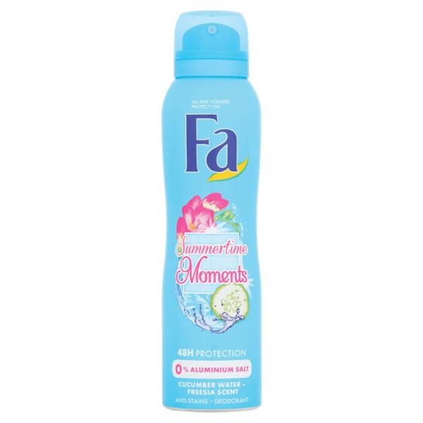 Fa summer times deodorant cucumber water & freesia scent