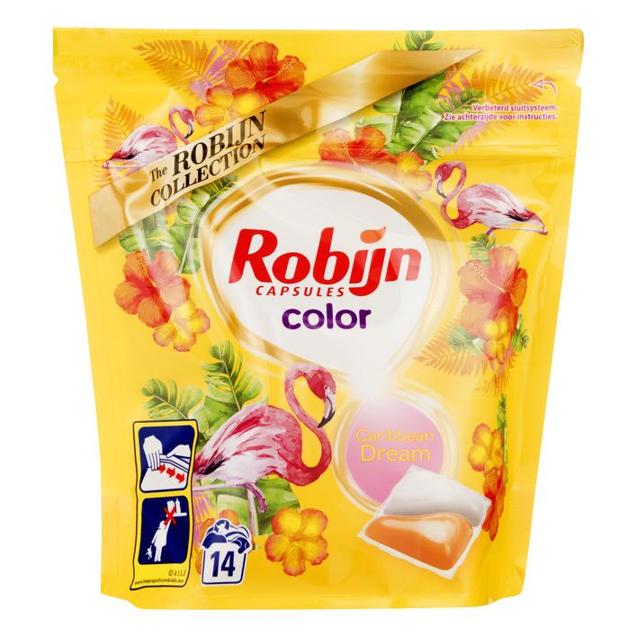 Robijn Wasmiddel capsules color caribbean dream
