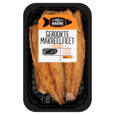 Vis Marine Gerookte makreelfilet naturel MSC