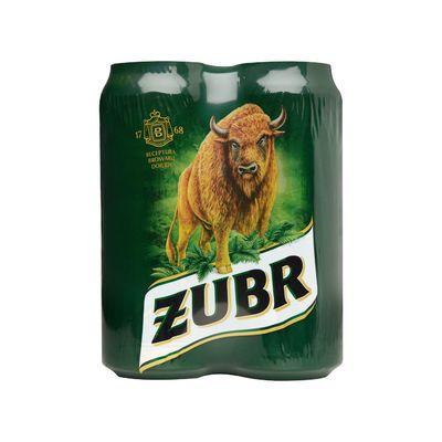 Zubr Bier Blik 4 X 50 Cl
