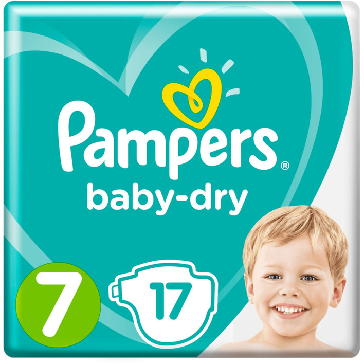 Pampers Baby Dry Carrypack Maat 7